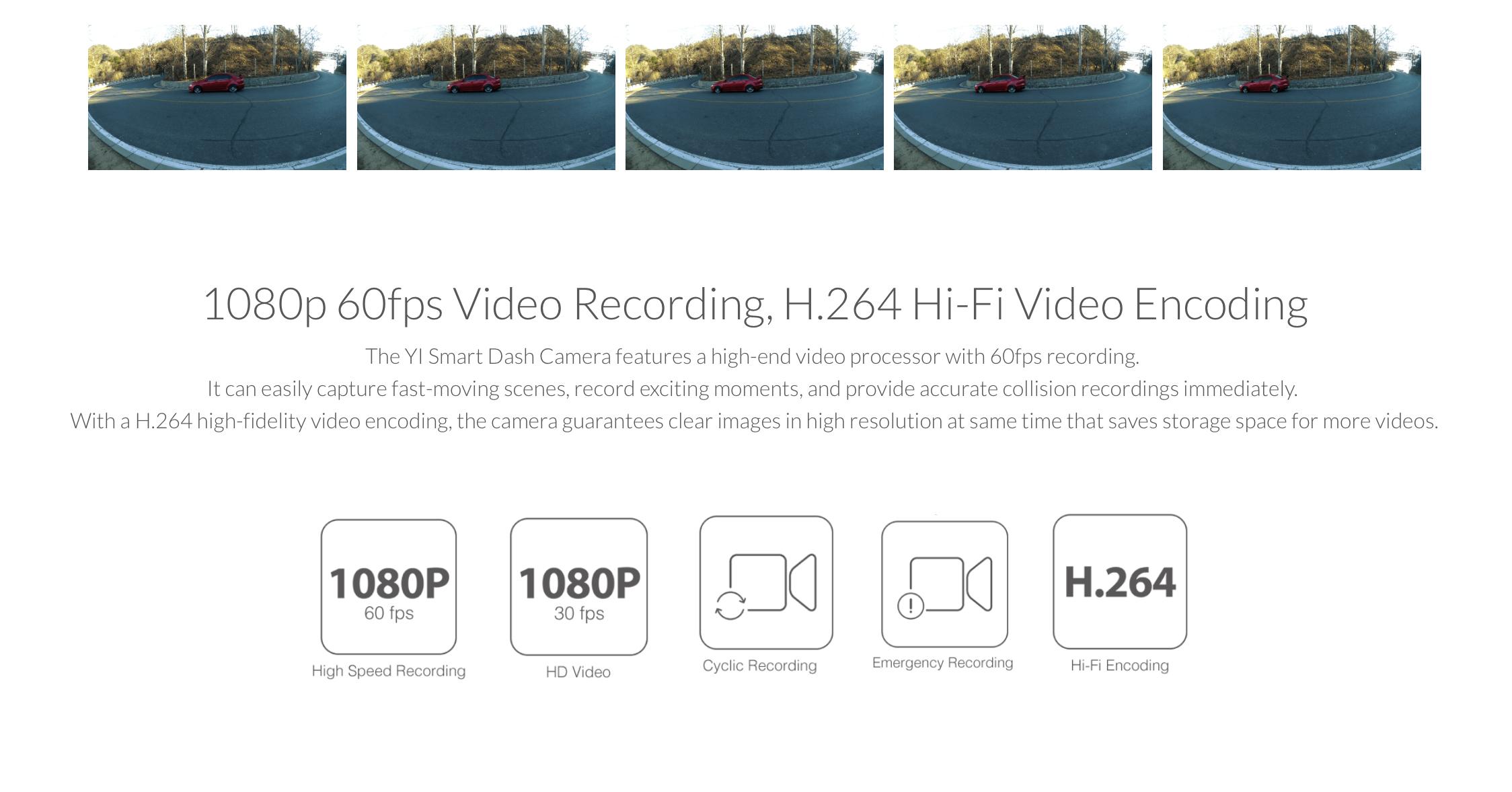 YI Smart Dash Camera (International Version)