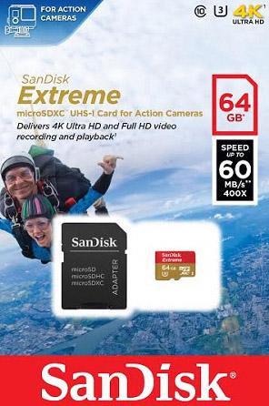 Sandisk 64gb 4k
