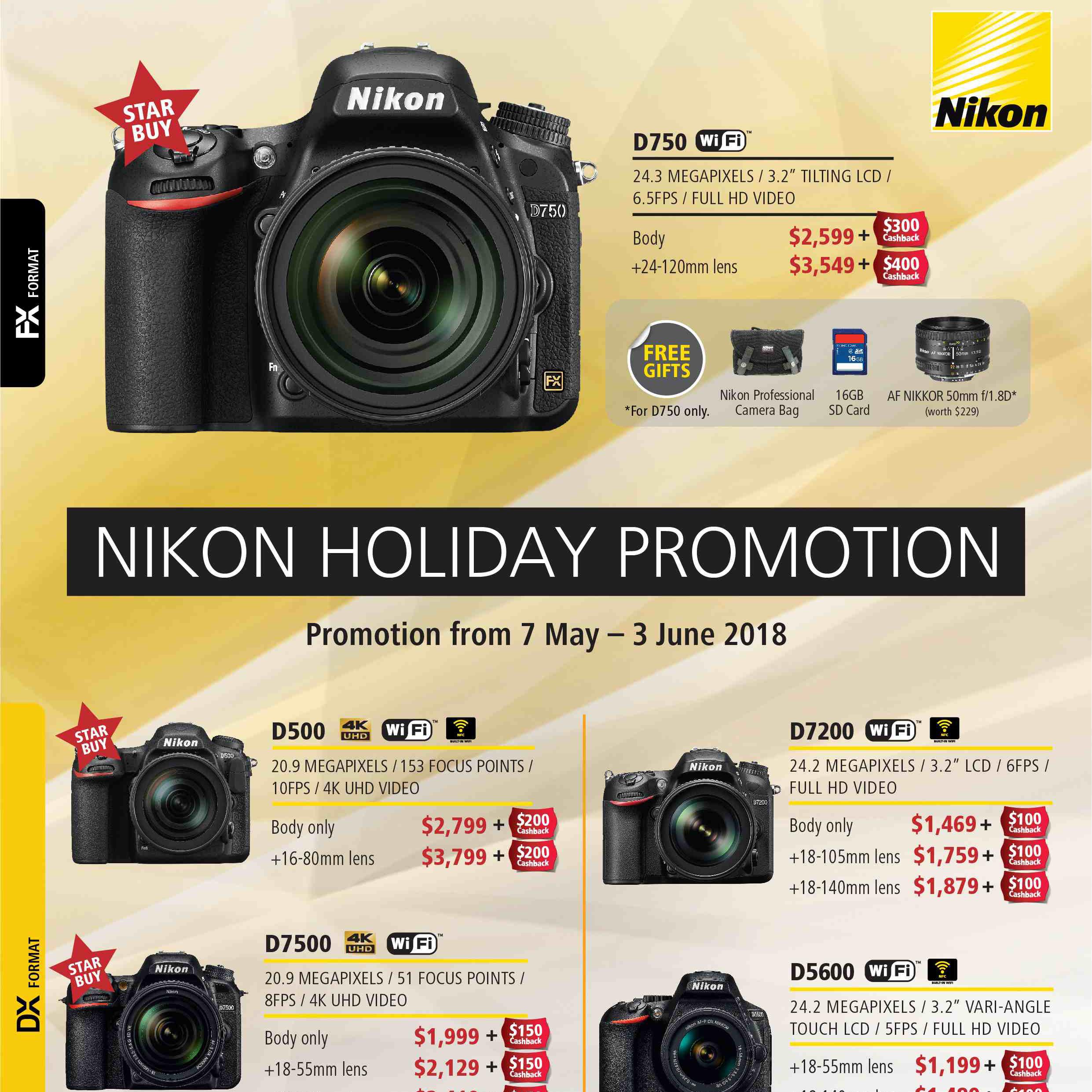 Nikon Holiday Promo