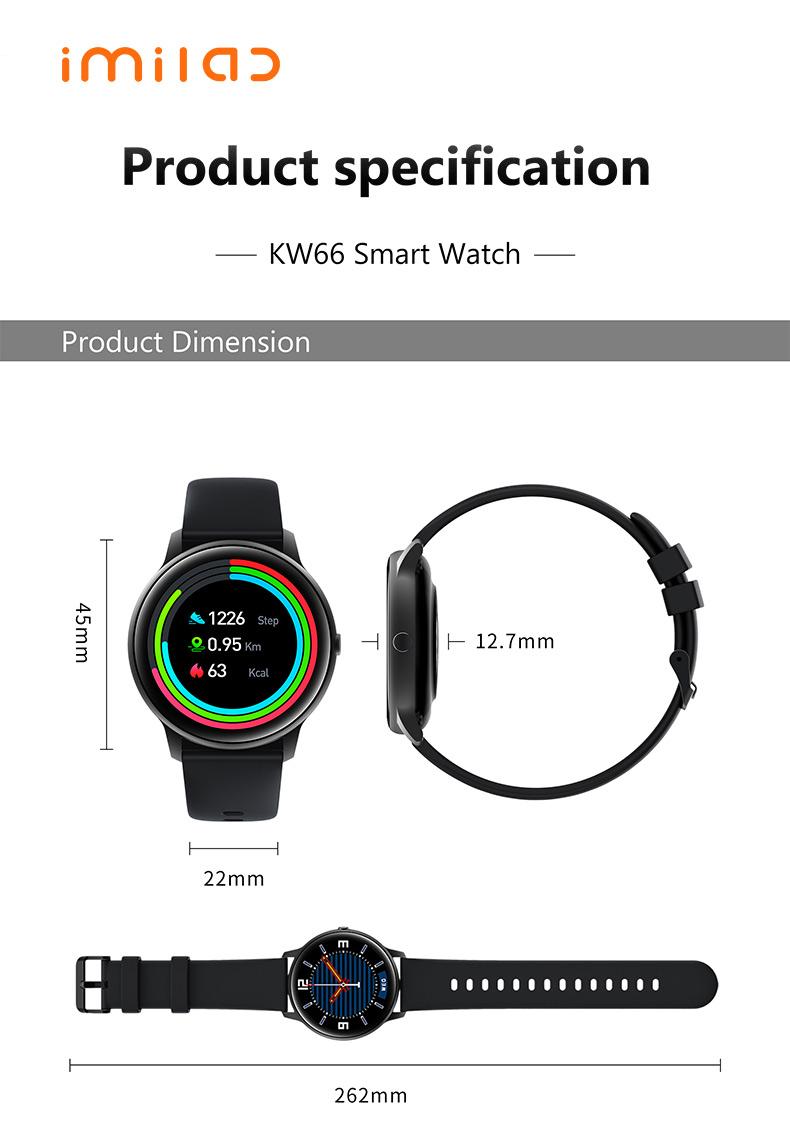 IMILAB Mijia KW66 Smartwatch - CameraSG
